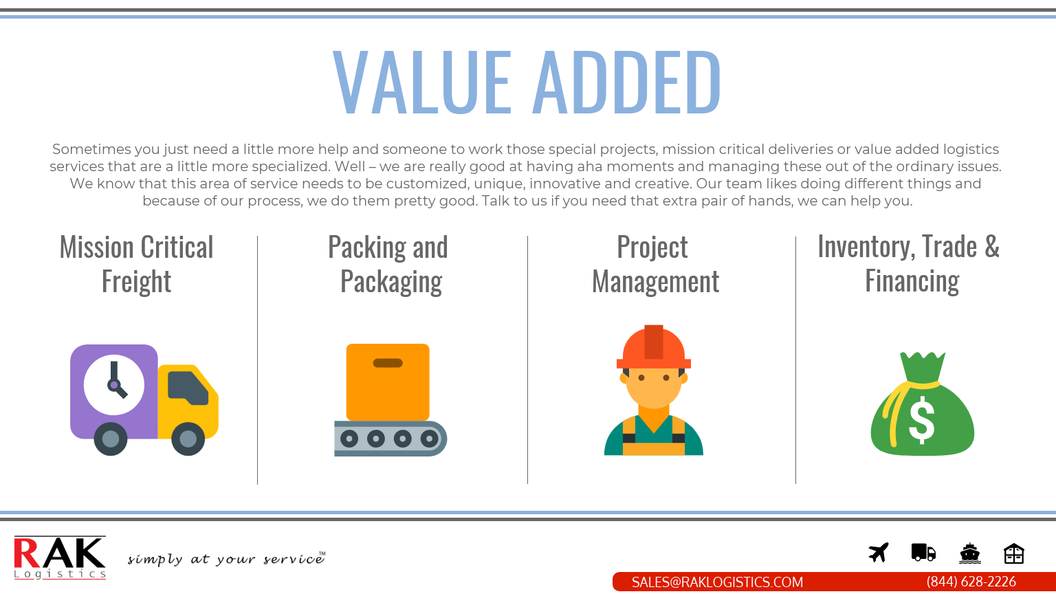 VALUE ADDED INFOGRAPHICS